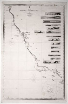 Two sheets: America West Cape Mendocino to Vancouver Id. from Cape Flattery southward... [and]...