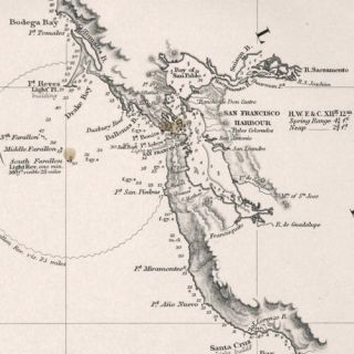 Two sheets: America West Cape Mendocino to Vancouver Id. from Cape Flattery southward... [and] America West Diego Bay to Cape Mendocino...